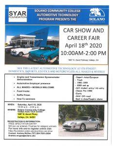 Solano Community College Car Show