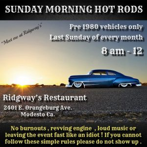 Sunday Morning Hot Rods