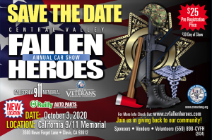 Cental Valley Fallen Heroes Car Show