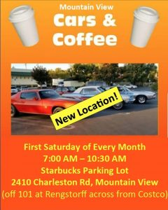 Mountain View Cars and Coffee