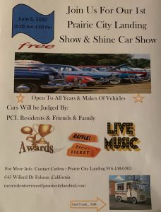 Prarie City Landing Show and Shine