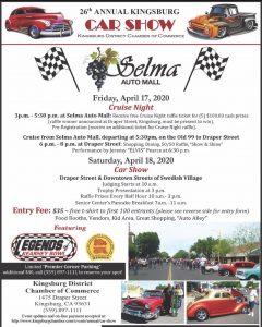 The 26th Annual Kingsburg Car Show
