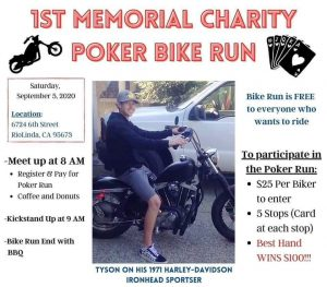 Charity Poker Bike Run