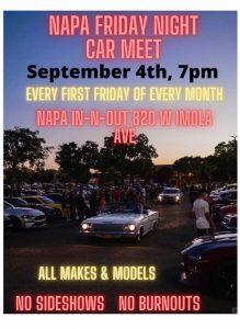 Napa Friday Night Car Meet