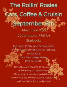 Rollin Rosies Cars, Coffee & Cruisin