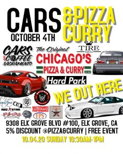 Cars & Pizza Curry