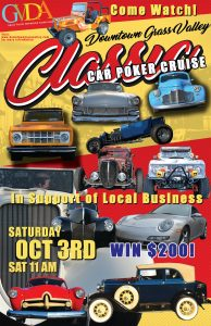 Downtown Grass Valley Classic Car Poker Cruise