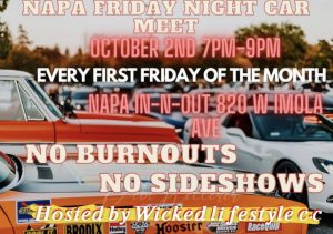 Napa Friday Night Car Meet