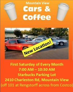 Mountain View Cars & Coffee