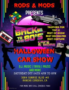 Back to the 80's Halloween Car Show