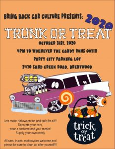 Brentwood Trunk or Treat