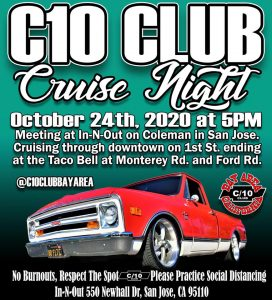 C10 Club Cruise Night