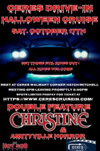 Ceres Drive-In Halloween Cruise
