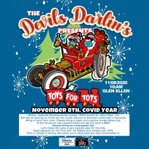 Devils Darlin's Toys For Tots