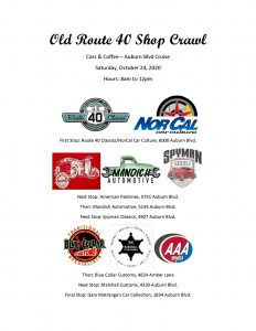 Route 40 Shop Crawl