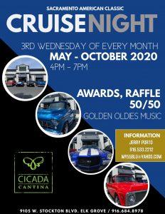 Sacramento American Classic Cruise Night