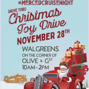 Merced Christmas Toy Drive