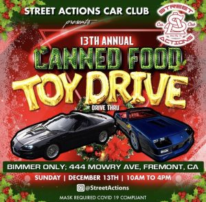 13th Annual Canned Food Toy Drive