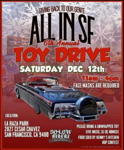 All In SF 6th Annual Toy Drive