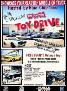 Blue Chip Tees Car Show & Toy Drive