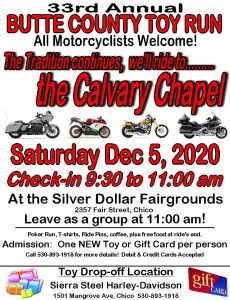 Butte County Toy Run