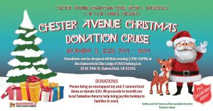 Chester Avenue Christmas Donation Cruise