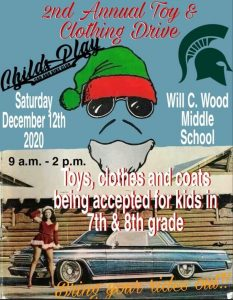 Childs Play 2nd Annual Toy & Clothing Drive