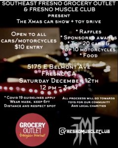 Christmas Car Show & Toy Drive