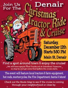 Denair Christmas Tractor Ride & Cruise