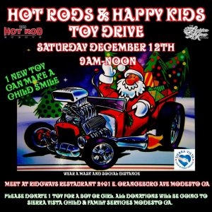 Hot Rods & Happy Kids Toy Drive