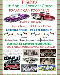 Lowrider Cruise & Toy and Canned Food Drive