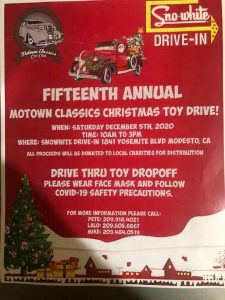 Motown Classics Christmas Toy Drive