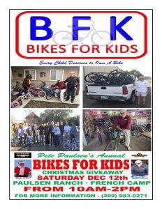 Pete Paulsen's Annual Bikes for Kids