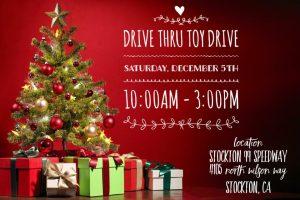 Stockton Drive-Thru Toy Drive