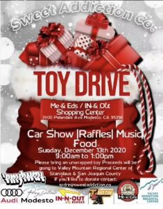 Sweet Addictions Toy Drive Car Show