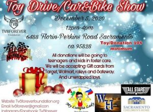 TV8Forever Toy Drive and Car & Bike Show
