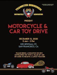Teamster Horsemen's Motorcycle & Car Toy Drive