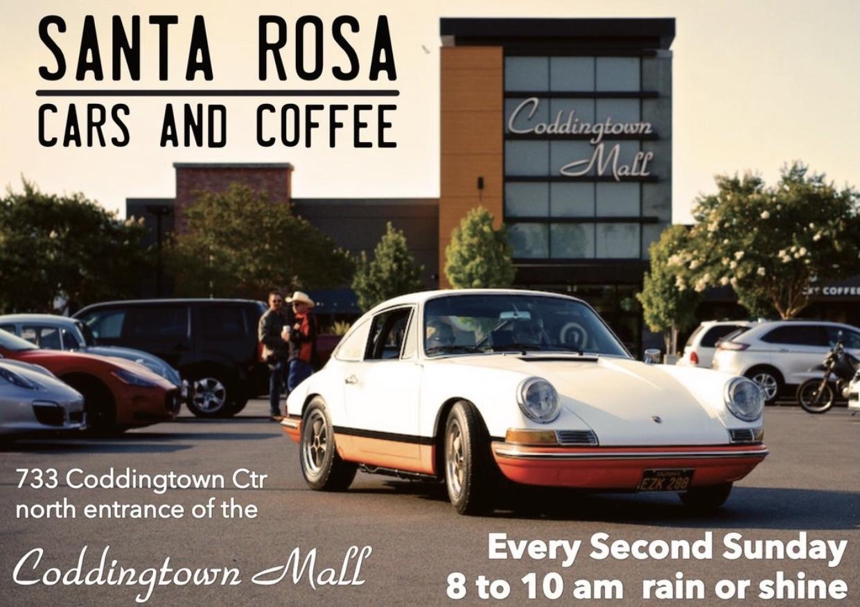Cars and Coffee Santa Rosa