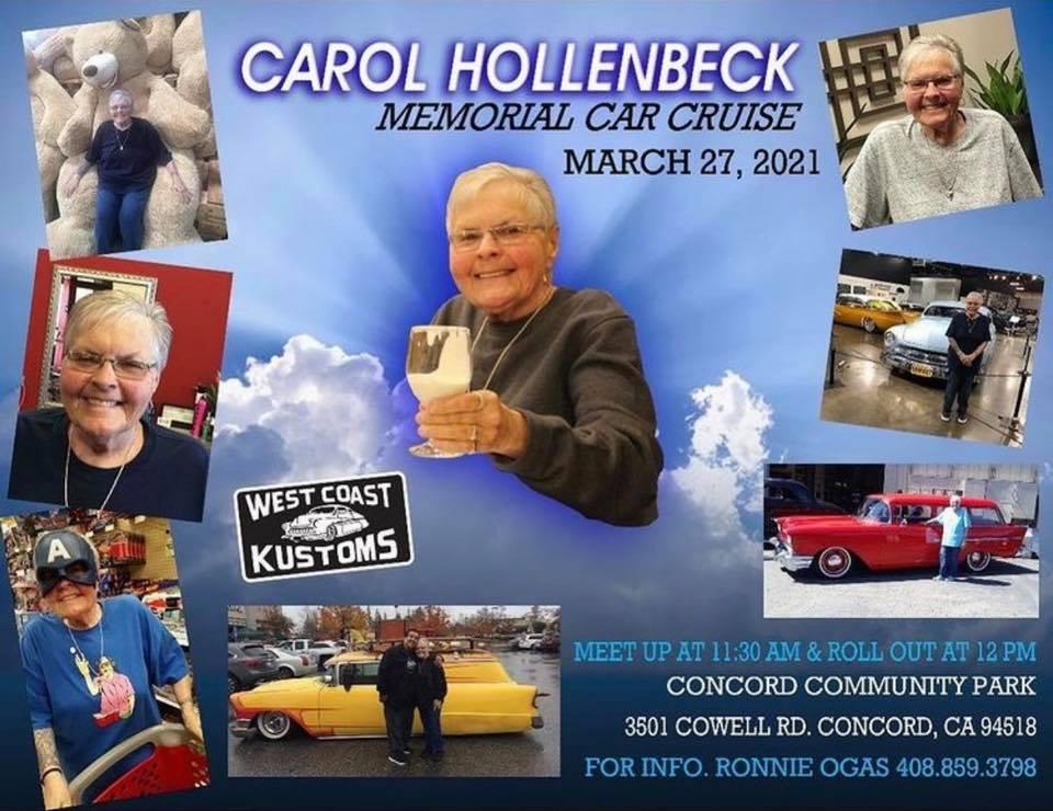 Carol Hollenbeck Memorial Car Cruise