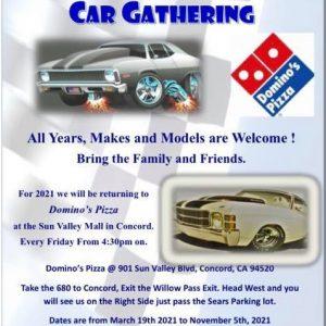 Concord Friday Night Car Gathering