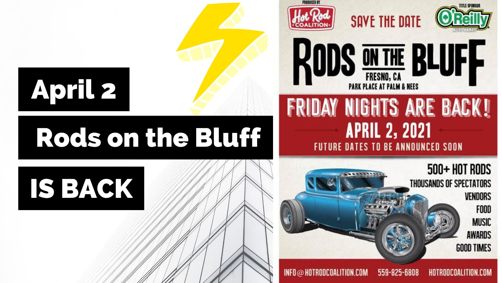 Rods on the Bluff
