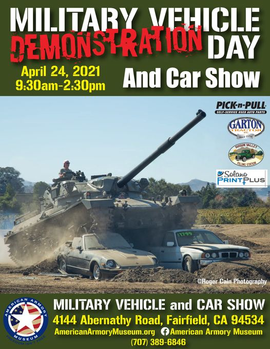 Military Vehicle Demonstration Day and Car Show