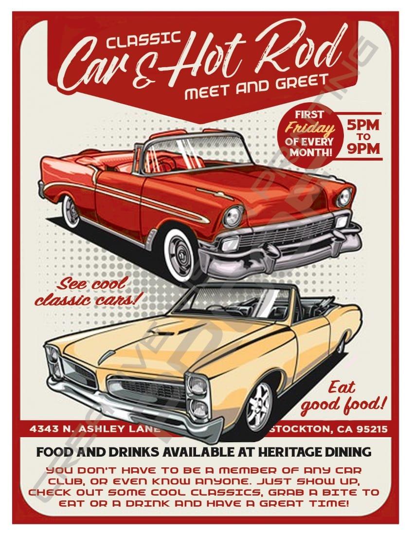 Classic Car & Hot Rod Meet and Greet