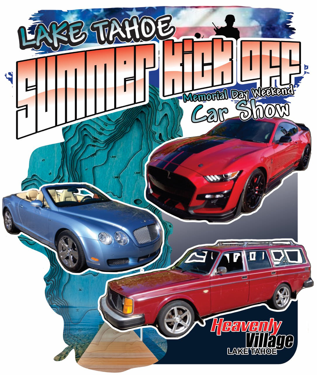 Lake Tahoe Summer Kick Off Car Show