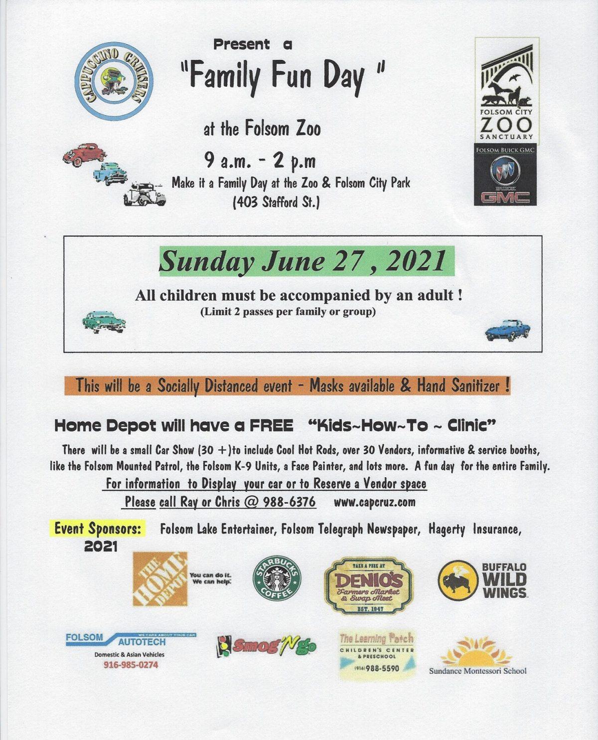 Family Day at Folsom Zoo