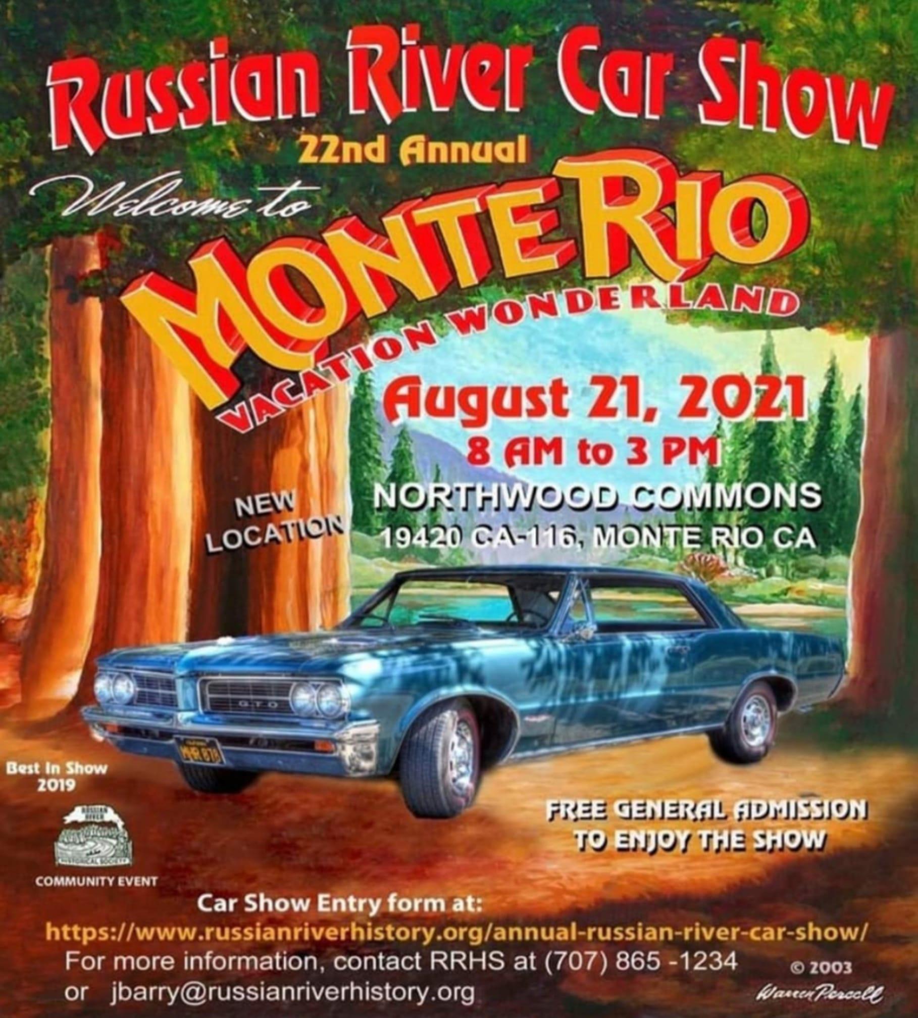 Russian River Car Show