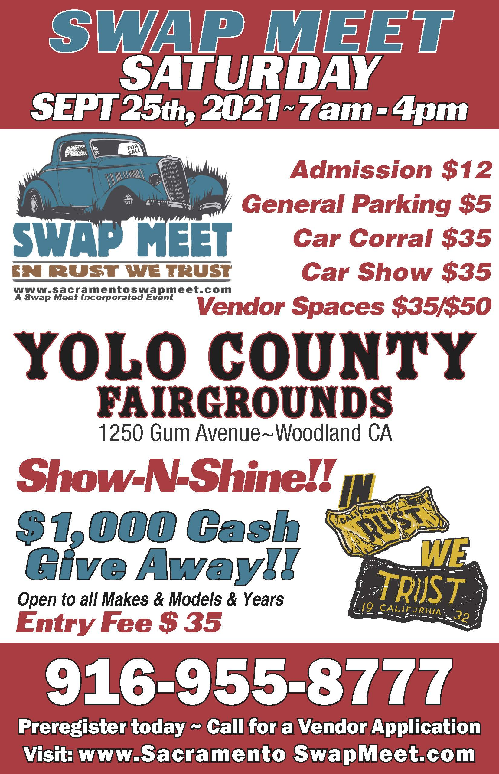 Sacramento Swap Meet Sept 2021