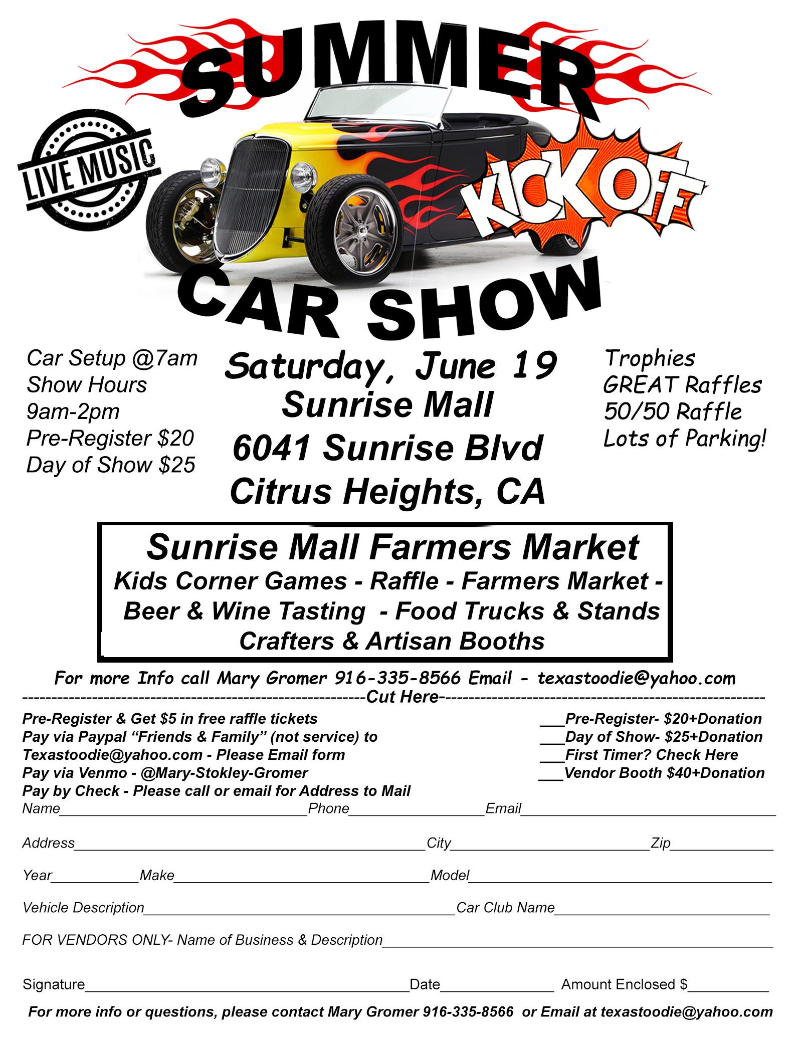 Summer Kickoff Car Show
