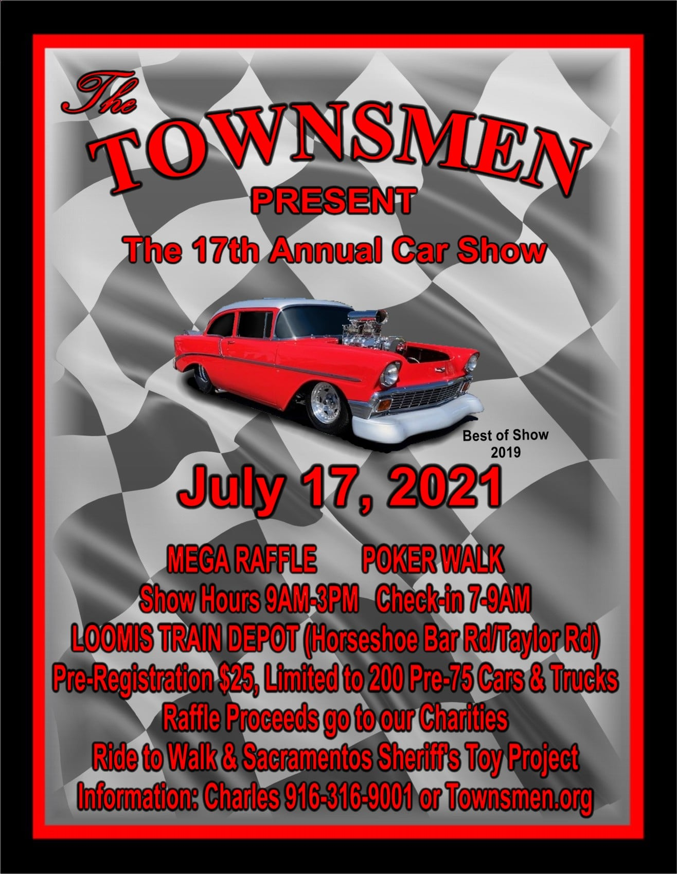 Townsmen Car Show
