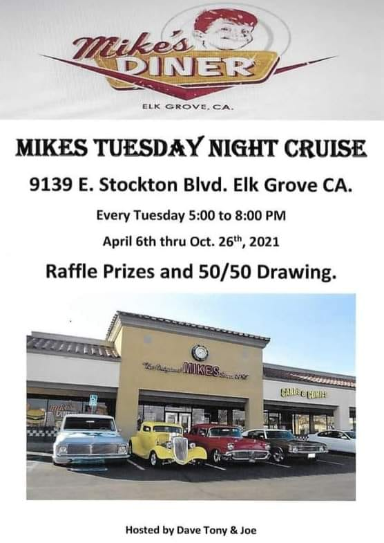Mike's Tuesday Night Cruise